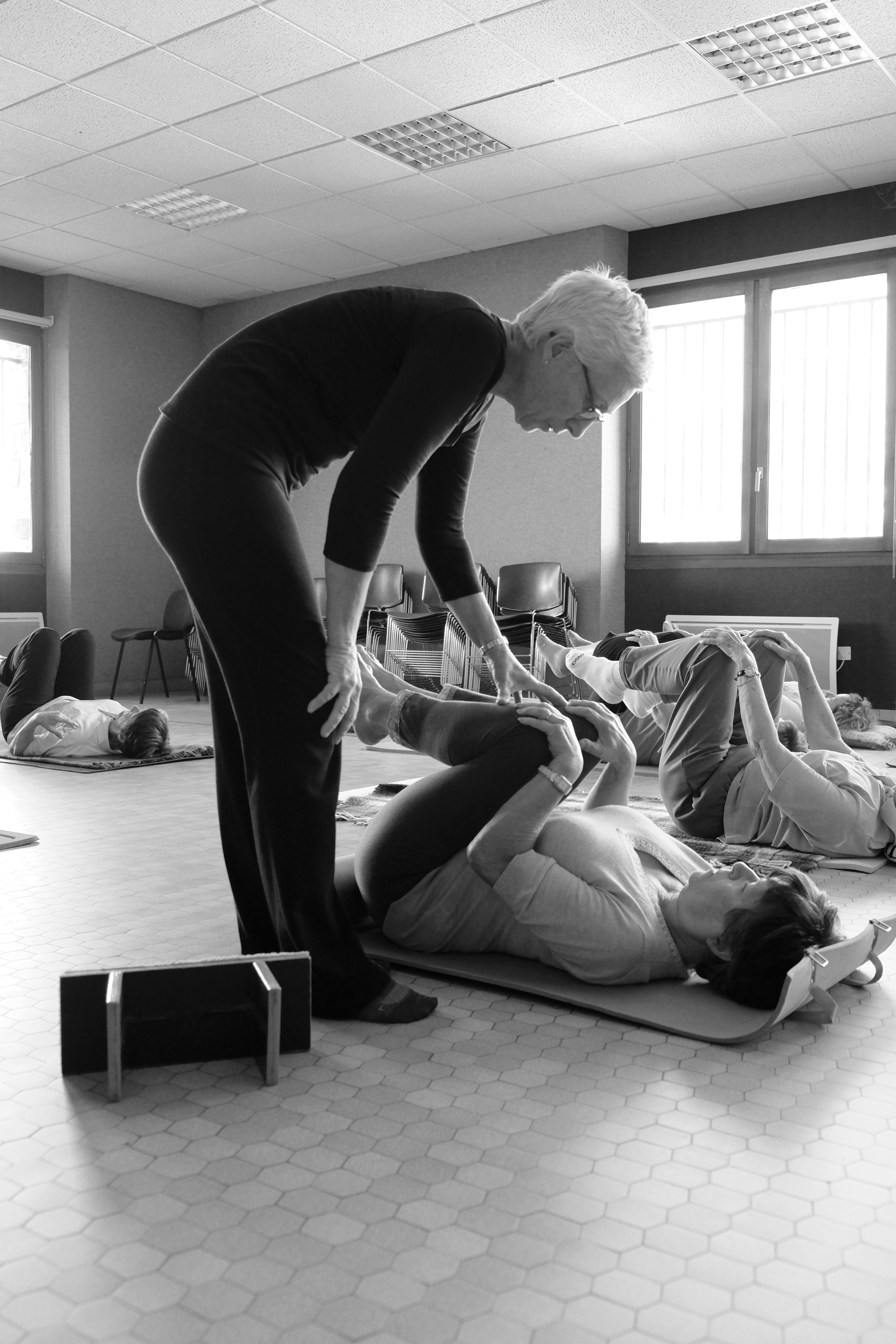 anoky atelier des 5 Sens yoga chateauneuf accompagnement posture